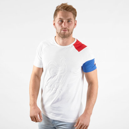 Le Coq Sportif France 2019/20 Supporters Rugby T-Shirt