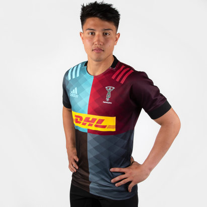 adidas Camiseta Replica de los Harlequins 2019/21 Local