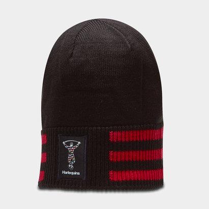 adidas Harlequins 2019/20 Rugby Beanie Hat