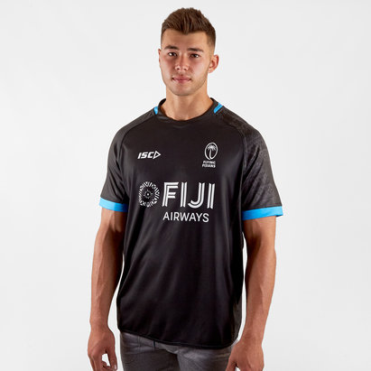 ISC Fiji 2019/20 Players S/S Training Rugby Shirt