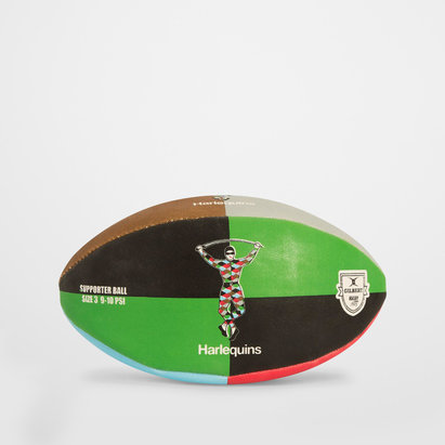 Gilbert Harlequins Supporters Quartered Rugby Ball