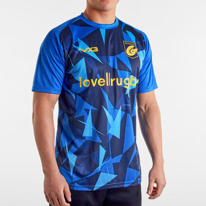 VX3 Dragons 2019/20 Poly Warm Up Rugby Training T-Shirt