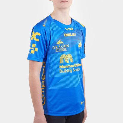 VX3 Dragons 2019/20 Kids Alternate S/S Replica Rugby Shirt