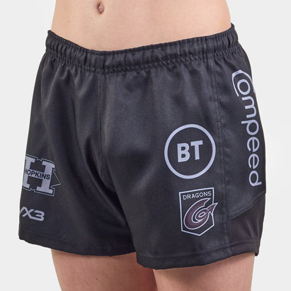 VX3 Dragons 2019/20 Kids Home Rugby Shorts