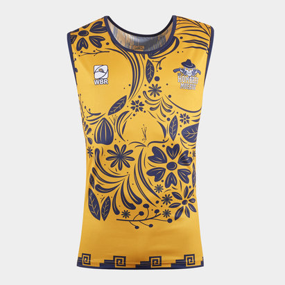 World Beach Rugby Los Hombres Muertos 2020 Home Training Singlet