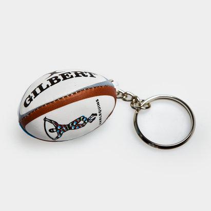 Gilbert Harlequins Rugby Key Ring