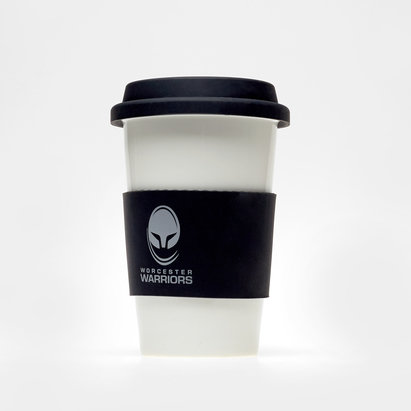 Worcester Warriors Silicone Wrap Travel Mug