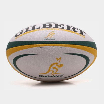 Gilbert Australia Wallabies Oficial Réplica - Balón de Rugby