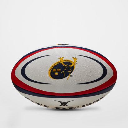 Gilbert Munster - Balón de Rugby Réplica Oficial Blanco/Negro