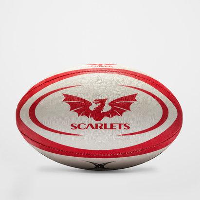 Gilbert Scarlets Oficial Réplica - Balón de Rugby