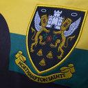 Northampton Saints 2017/18 Europea M/C Réplica - Camiseta de Rugby