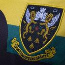 Northampton Saints 2016/17 Niños Europea M/C Réplica - Camiseta de Rugby