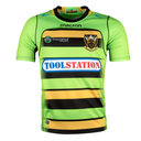 Northampton Saints 2017/18 Alternativa Niños M/C Réplica - Camiseta de Rugby