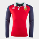 Camiseta de British and Irish Lions Manga Larga