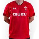 Gales WRU 2017/19 Home M/C Réplica - Camiseta de Rugby