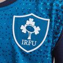 Irlanda IRFU 2018/19 Niños Alternativa Pro M/C - Camiseta de rugby