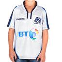 Escocia 2018/19 Alternativa Niños M/C Réplica - Camiseta de Rugby