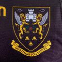 Northampton Saints 2018/19 Home - Camiseta de Rugby Auténtica Test
