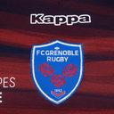 FC Grenoble 2018/19 Replica Alternativa Camiseta de Rugby