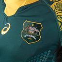 Australia Wallabies RWC 2019 Camiseta Alternativa de Partido de Rugby