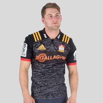 Chiefs 2018 Home Super Rugby M/C - Camiseta de Rugby