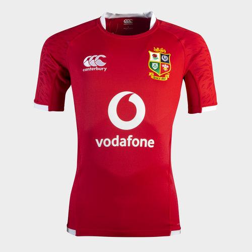 British and Irish Lions Pro Shirt Tango Red