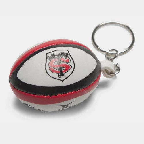 Toulouse Mini Balón Rugby - Llavero