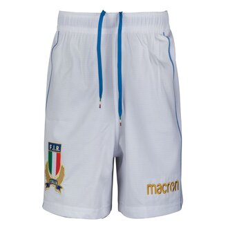 Italia 2017/18 Home Players - Shorts de Rugby