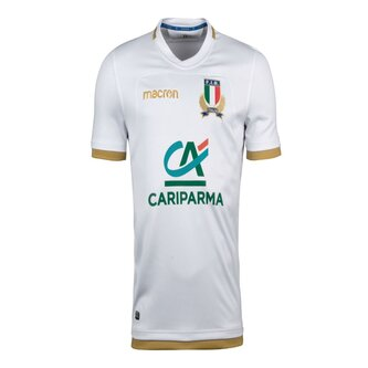 Italia 2017/18 Alternativa M/C Réplica - Camiseta de Rugby