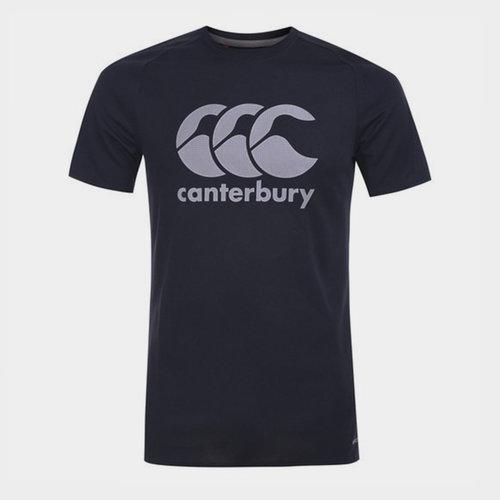 Core Vapodri Poly Logo - Camiseta