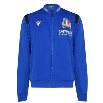 Italy Full Zip Track Jacket Mens