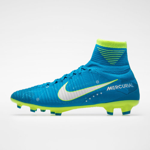 uk availability 13e10 519ef Mercurial Superfly V D-Fit Neymar Niños FG - Botas de Fútbol