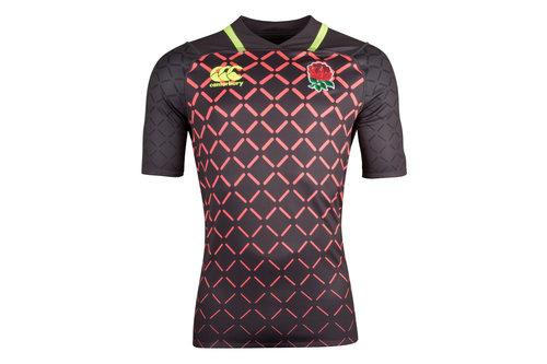 Inglaterra 7s 2018/19 Jóvenes Alternativa Pro M/C - Camiseta de Rugby