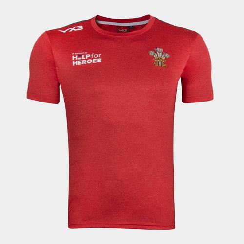 Help 4 Heroes Wales T Shirt Mens