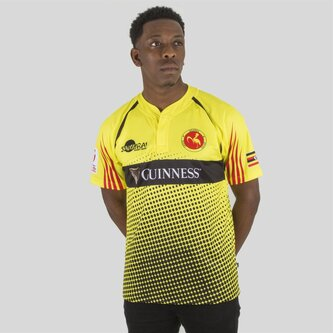 Uganda 7s 2017/18 Home M/C Réplica - Camiseta de Rugby