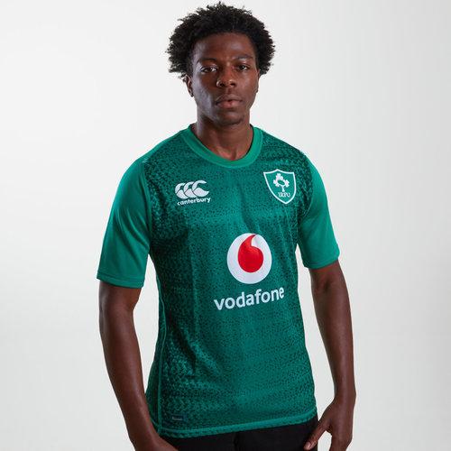 Irlanda IRFU 2018/19 Home Pro M/C - Camiseta de Rugby