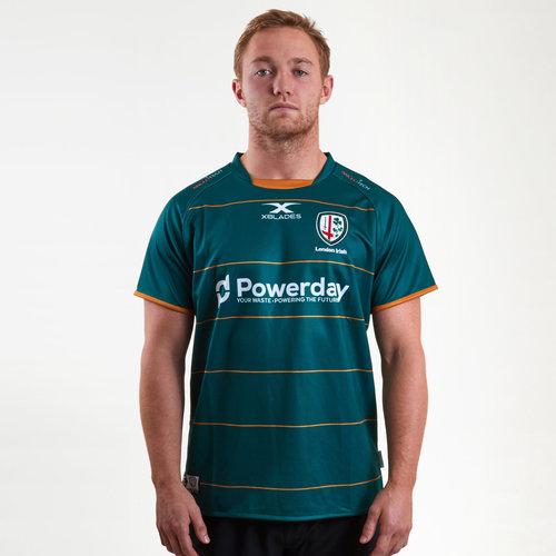 London Irish 2018/19 Home M/C Réplica - Camiseta de Rugby