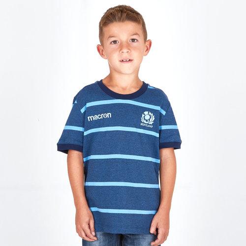 Escocia 2018/19 Camiseta de Rugby De Viaje para Niños
