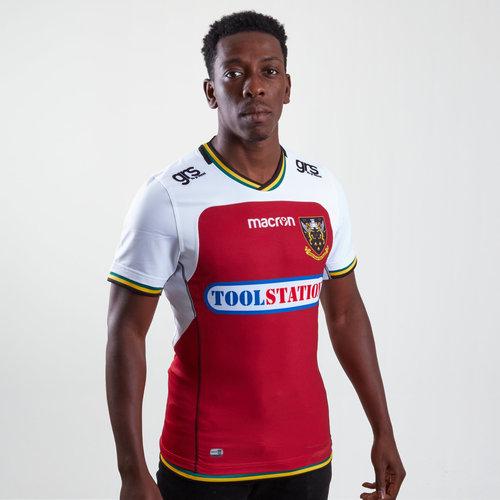 Northampton Saints 2018/19 Autentica Alternativa Camiseta Test de Rugby