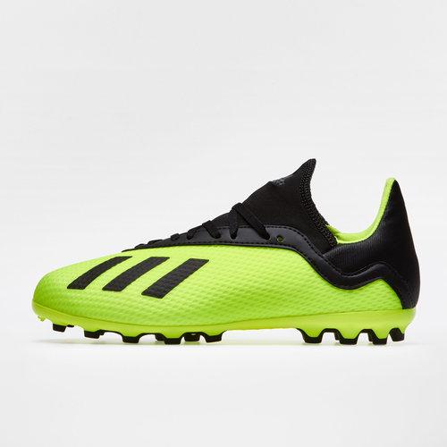 adidas X 18.3 AG - Botas de Fútbol para Niños 9b00e736b02e7