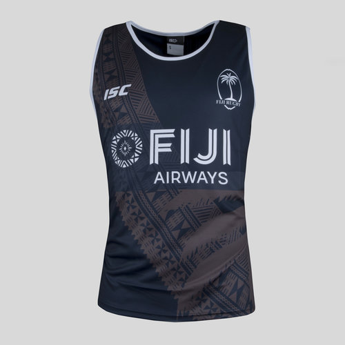 Fiji 7s 2017/18 Players Camiseta de Rugby Sin Mangas