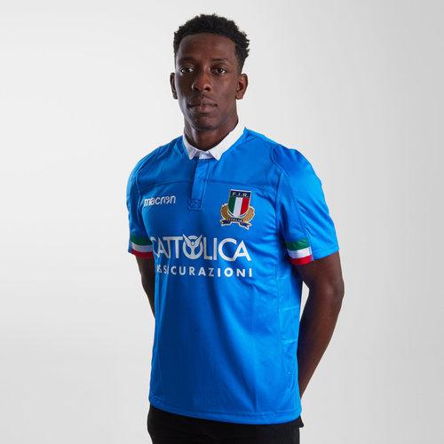 Italia 2018/19 Home Replica Camiseta de Rugby