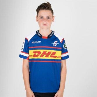 Stormers 2018 Home Replica SuperRugby Camiseta de Rugby para Niños