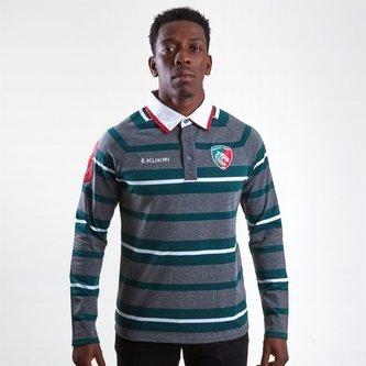 Leicester Tigers 2018/19 Camiseta de Rugby Yarn Dye