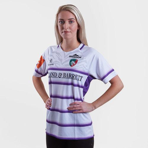 Leicester Tigers 2018/19 Replica camiseta Alternativa de Rugby de Dama