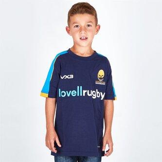 Worcester Warriors 2018/19 Camiseta Pro de Rugby para Niños