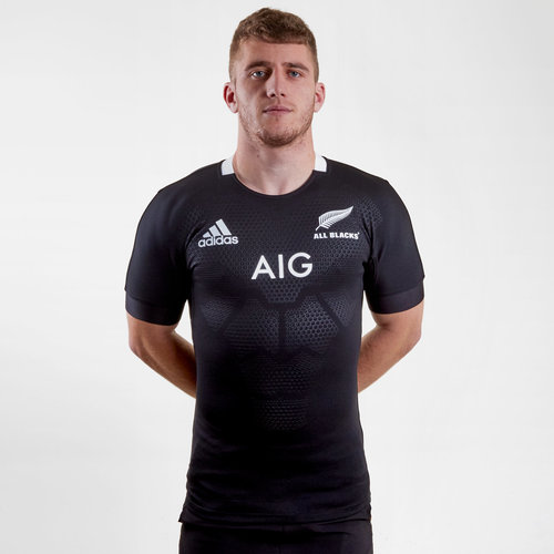 Nueva Zelanda All Blacks 2018/19 Home Test Camiseta De Rugby
