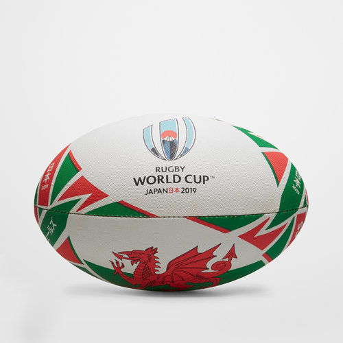 RWC 2019 Gales Replica Oficial Balon de Rugby