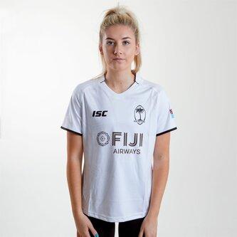 Fiji 2018 19 Home Replica Rugby Shirt Womens