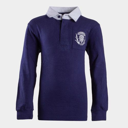 Scotland 2019/20 Kids Vintage Rugby Shirt